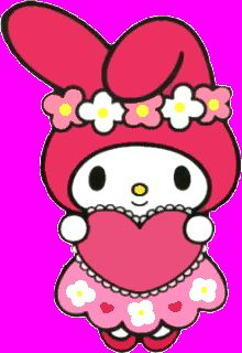 Heart - My Melody | Gambar, Wallpaper ponsel