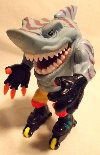 Street Sharks Figuren