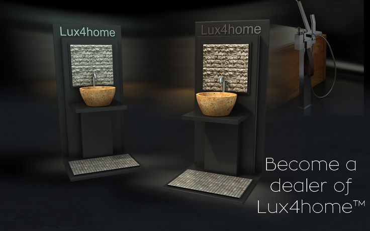 If you are interested please contact us. If you know who may be interested - let them know about us... http://www.Lux4home.com #stone #sinks