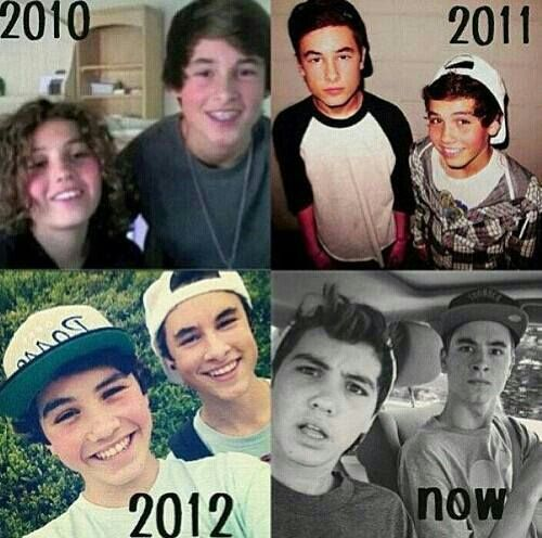 The evolution of Sam Pottorff and Kian Lawley