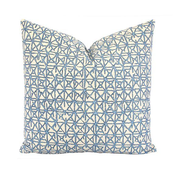 Rattan Throw Pillow Cover