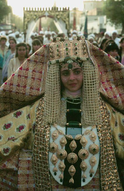 Morocco.Fez.Fassi bride.1984  #world #cultures via Sandra Angelozzi