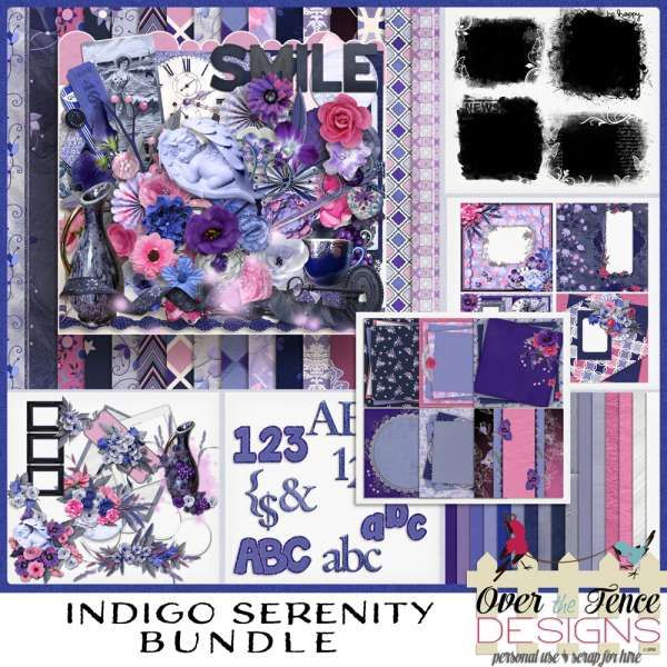 Personal Use :: Bundled Deals :: Indigo Serenity Bundle