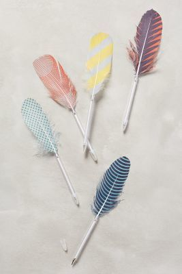 Anthropologie Feather Pen #anthrofave