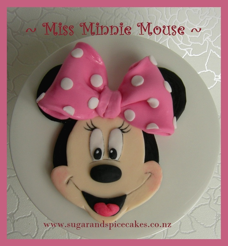 Disney miss minnie mouse novelty edible cake toppers from