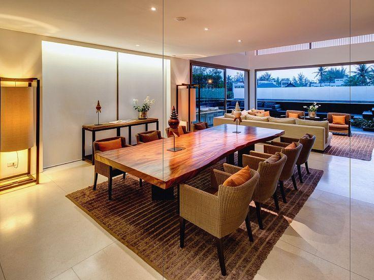 Huge dining area