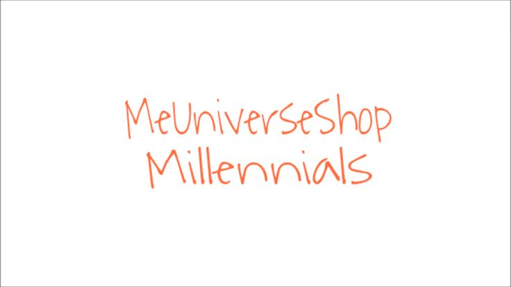#Millennials send your resume at webmaster@me-universe-shop.org and visit our website: MeUniverseShop