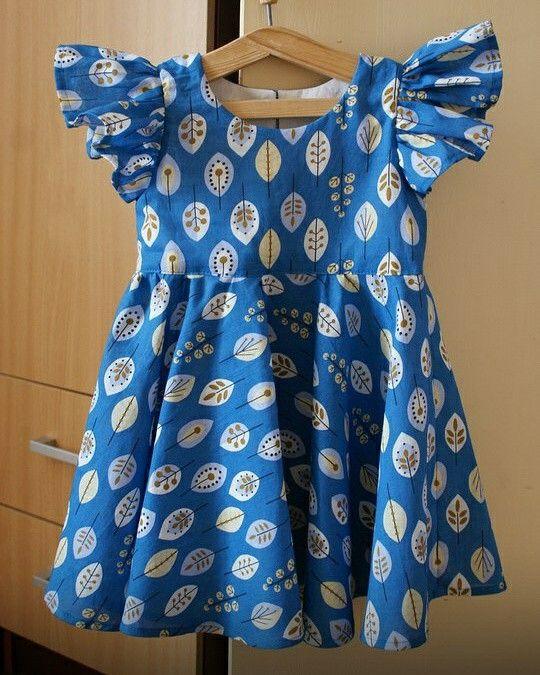 Ситцевое платье на заказ для девочки по вашим размерам