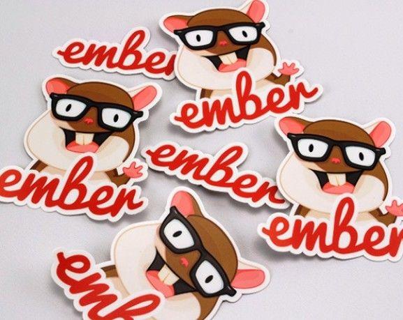 35 contoh desain sticker sebagai media promosi yang efektif