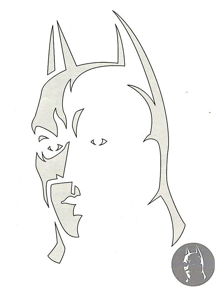 Batman Pumpkin Carving Guide - Video --> http://www.comics2film.com/batman-pumpkin-stencil/  #Batman