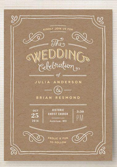 36 Best Rustic Wedding Invitations Images On Pinterest Rustic