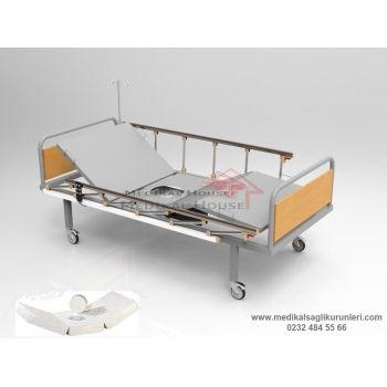 Elektrikli Lazımlıklı Hasta Karyolası 2 Motorlu