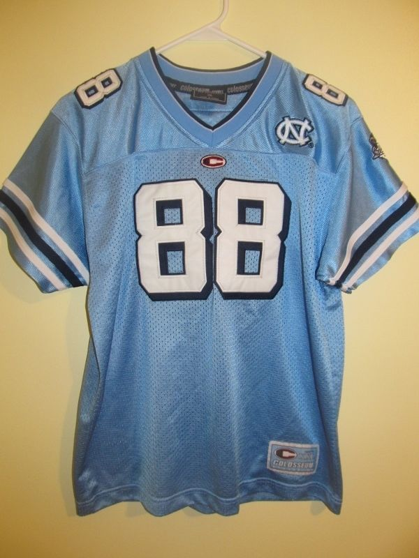 North Carolina Tar Heels football jersey - Colosseum Youth XL #ColosseumAthletics #NorthCarolinaTarHeels