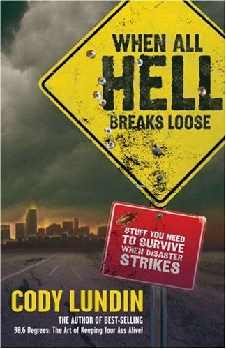 Excellent book in teaching preparedness. Cody Lundin also throws in humor so that the book is not boring like other survival books. It's not a apocalyptic novel  as the cover shows. Its full of good info on being prepared for specific or unpredictable events.