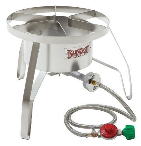 Outdoor High Pressure Cooker Stainless Steel Cooking Gas Stove Windscreen Burner #BayouClassic