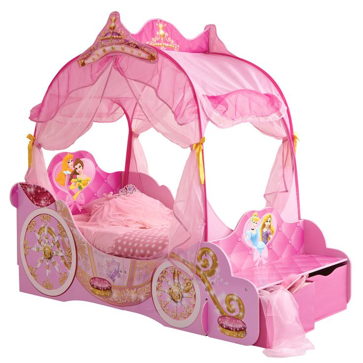 Images For > Princess Carriage Beds