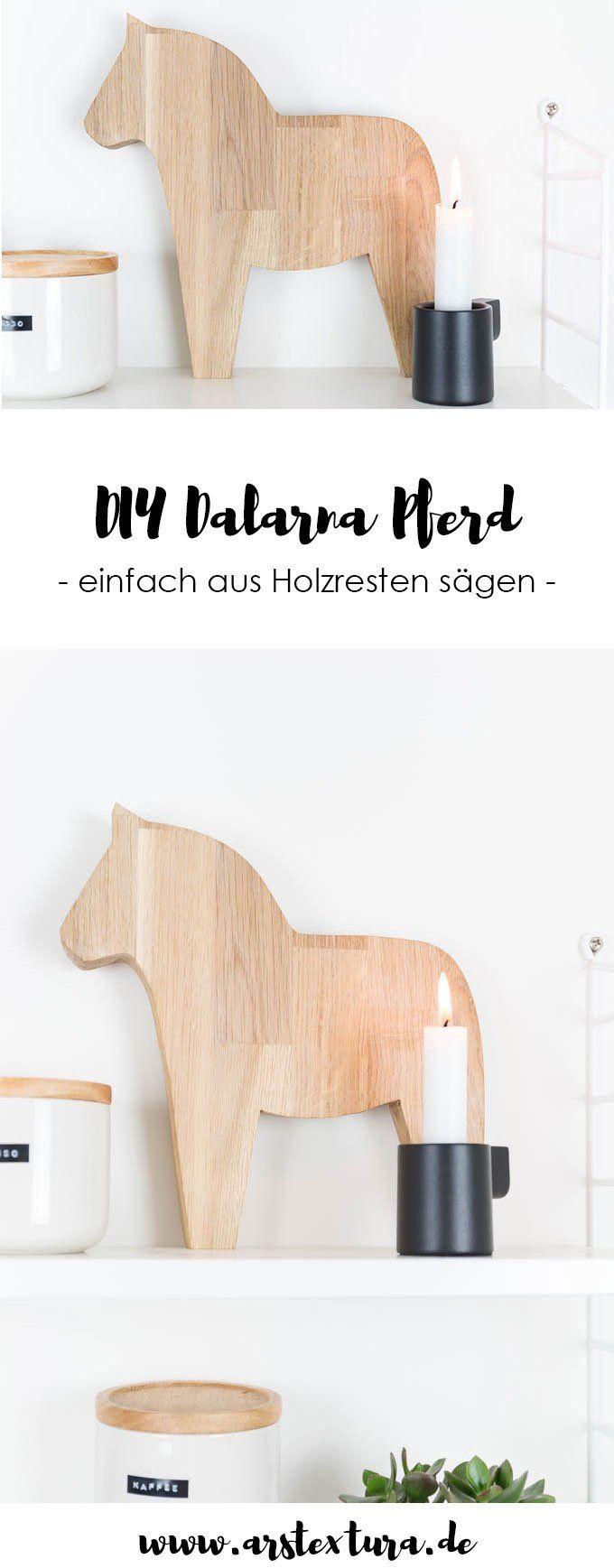 Dalapferd aus Holz sägen – DIY-Geschenk – Franzi_DIY_&_Deko