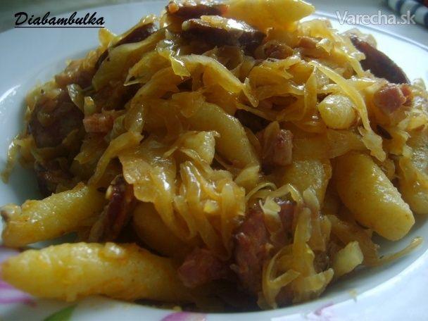 Gazdovská pochúťka - Recept