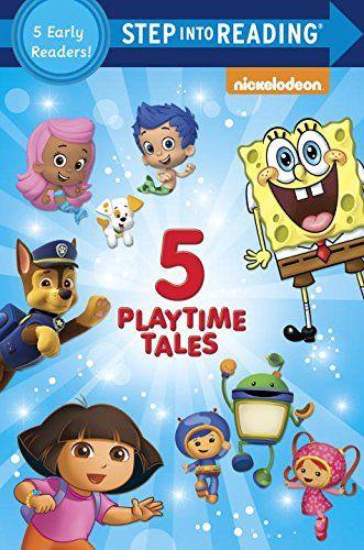 Five Playtime Tales (Nick Jr.) (Step into Reading) @ niftywarehouse.com #NiftyWarehouse #Spongebob #SpongebobSquarepants #Cartoon #TV #Show
