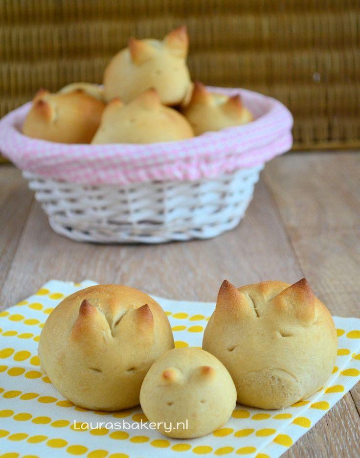 Konijnen broodjes - Laura's Bakery