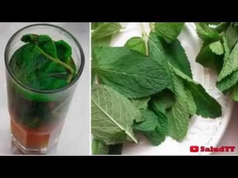Deja tu hígado como nuevo con un solo vaso de esta receta a base de hierbabuena - YouTube