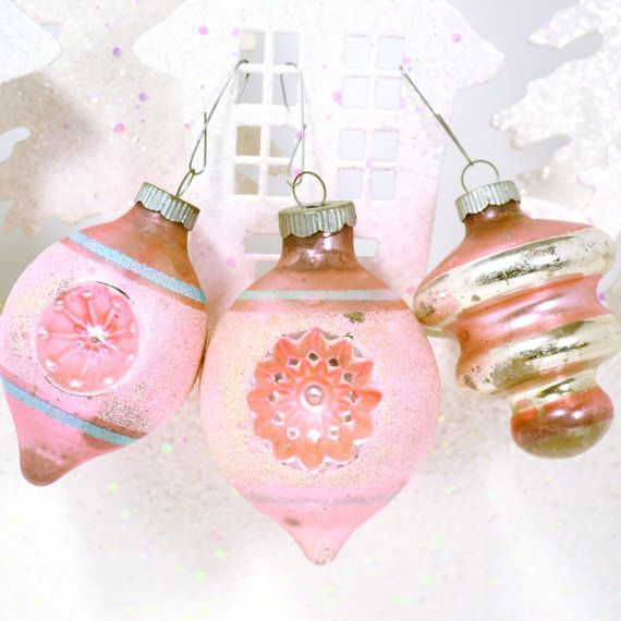 vintage etsy ornaments
