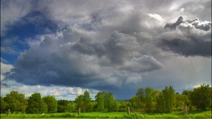 Rain a coming