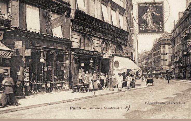 rue du Faubourg-Montmartre - Paris 9ème