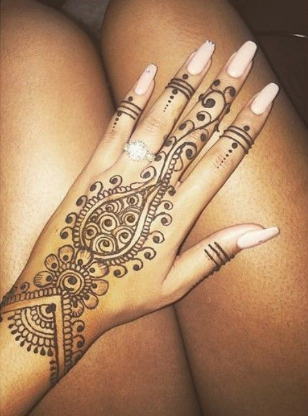 hand henna ideas - Google Search
