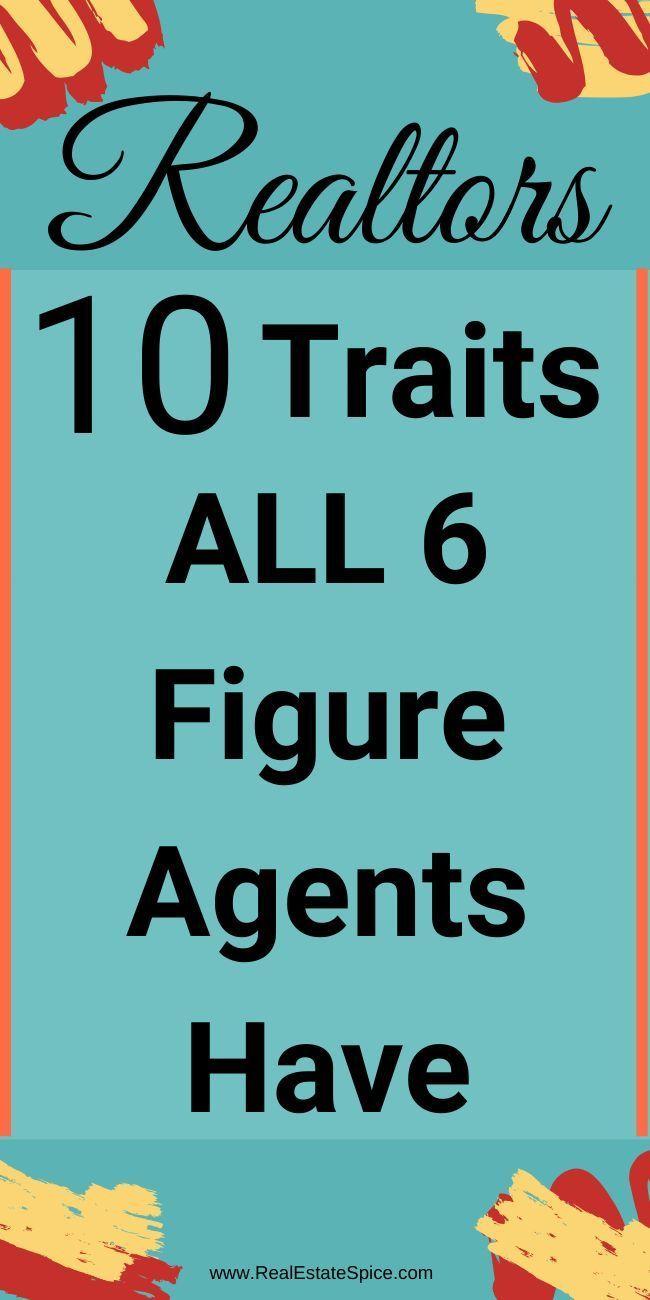 Successful Real Estate Agents 10 Traits All Successful Realtors