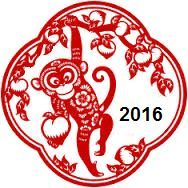 2016 Monkey Chinese Astrology - 12 Chinese Zodiacs Predictions for Year of Monkey