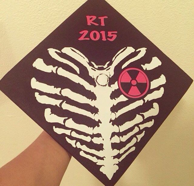 Rad tech grad cap ideas!