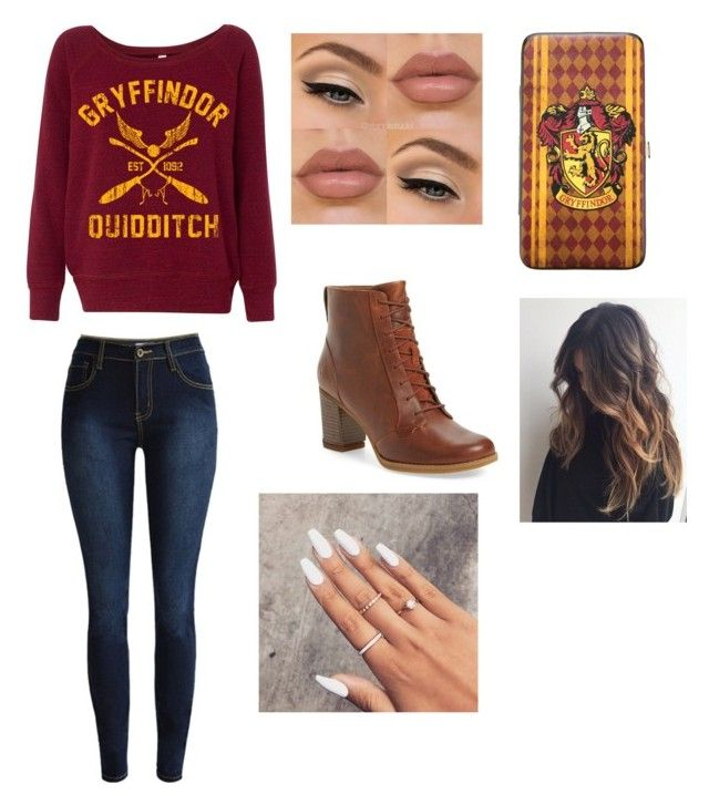 """""""Untitled #38"""" by jaraujo3 on Polyvore featuring Timberland and Warner Bros."""