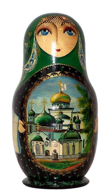 Matryoshka Doll. http://www.pinterest.com/MatryoshkasSoap/one-of-a-kind-matryoshka/