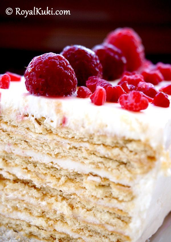 15 Dakikada hazır, Bisküvili Kolay Yaş Pasta