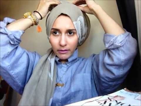 This one is so easy! TUTORIAL ALERT - MY SISTERS HIJAB STYLE by Dina Tokio