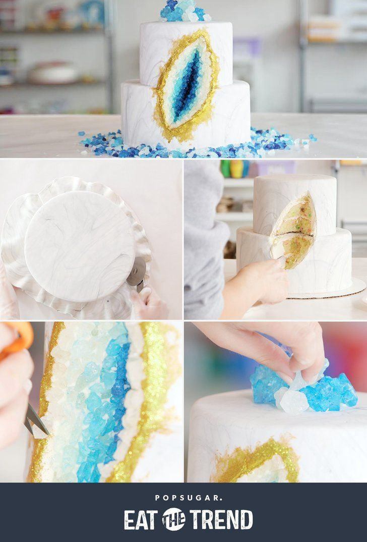 Make this geode cake masterpiece at home!