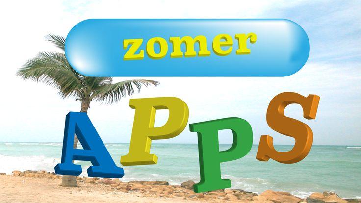 App thema Zomer op www.meestersander.nl