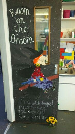 Room on the broom door