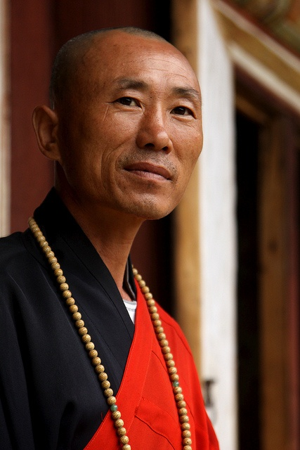 North Korea - Inner Chilbo - Kaesim Temple - Last buddhist monk.