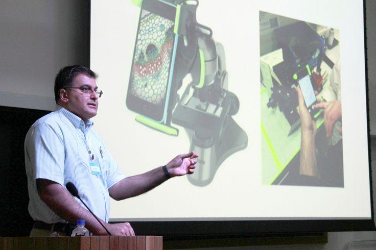 Pesquisadores desenvolvem aplicativo de celular para apoiar no diagnóstico de malária   AGÊNCIA FAPESP