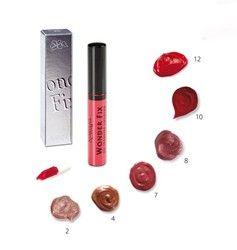 WONDERFIX Lippenstift  Een revolutionaire vloeistof voor de lippen die gemakkelijk aan te brengen en zeer long lasting is. Een dunne emulsie die u licht op de lippen aanbrengt en even laat drogen. U bent verzekerd van een mooie glans en langdurige kleuring. De vloeistof droogt niet uit en vervaagd niet. De Vitamine E en een zonnefilter helpen de veroudering van de lippen te bestrijden en beschermen ze tegen extreme invloeden. Berganieolie zorgt er voor dat de lippen zacht aanvoelen.