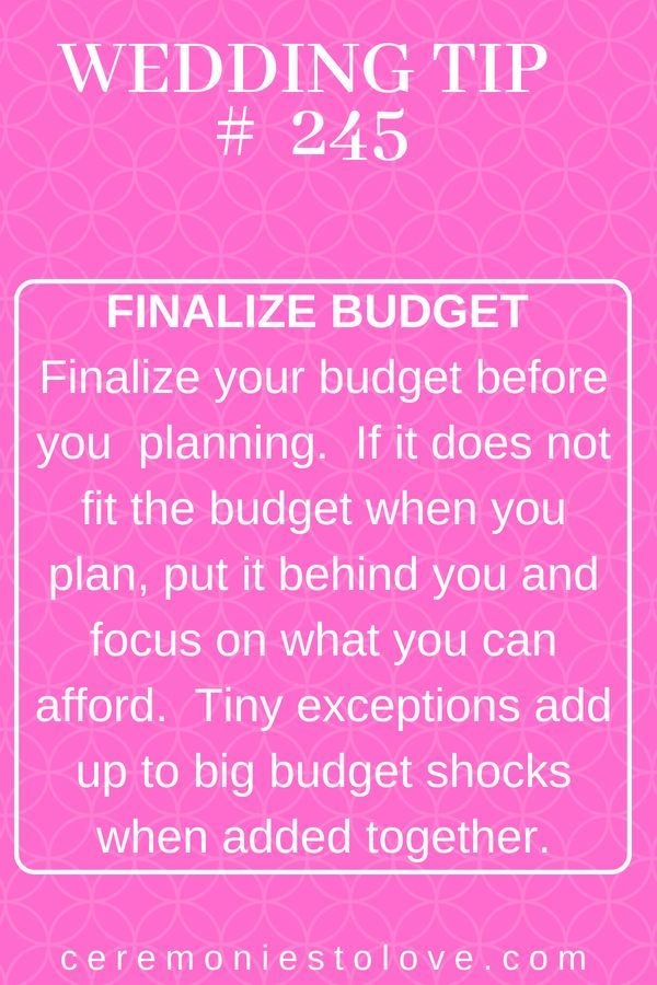 Spreadsheets, and budget breakdowns, and calculations will fill your