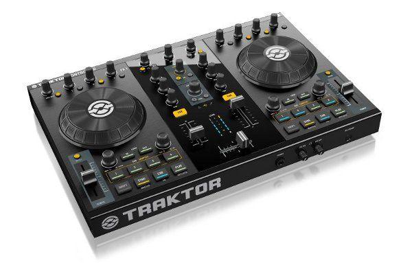 Traktor Kontrol S2 digital DJ system shaves a few inches and bones off its big brother