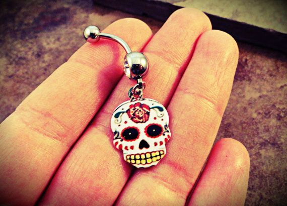 51 best jewelry 101 images on pinterest jewerly body for Day of the dead body jewelry
