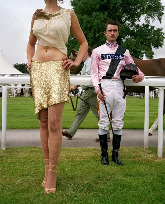 Jockey Fashion for Suddeutsche Zeitung. 2004. Magnum Photos - Martin Parr 2004 GB - ENGLAND