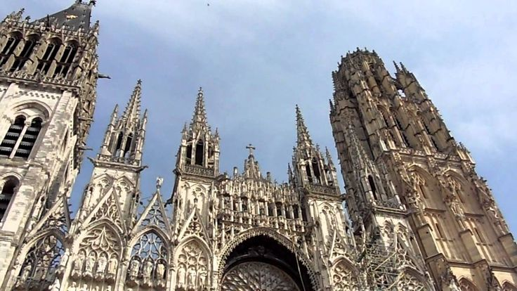 Bells of Rouen Cathedral chime to Joan of Arc ....