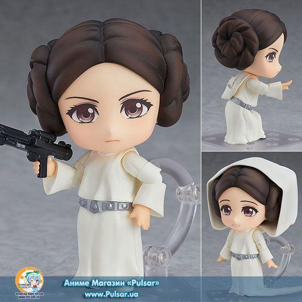 Оригинал (other):Star Wars Episode IV: A New Hope Имя персонажа:Princess Leia Дата выпуска:Июнь, 2018 Тип фигурки:Nendoroid Материал:PVC, ABS Высота:100 мм Производитель:Good Smile