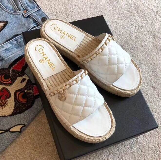 Chanel Espadrilles Quilted Lambskin