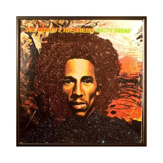 Glittered Bob Marley Album Natty Dread